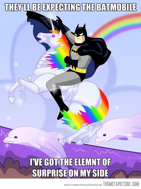 Unicorn batmobile